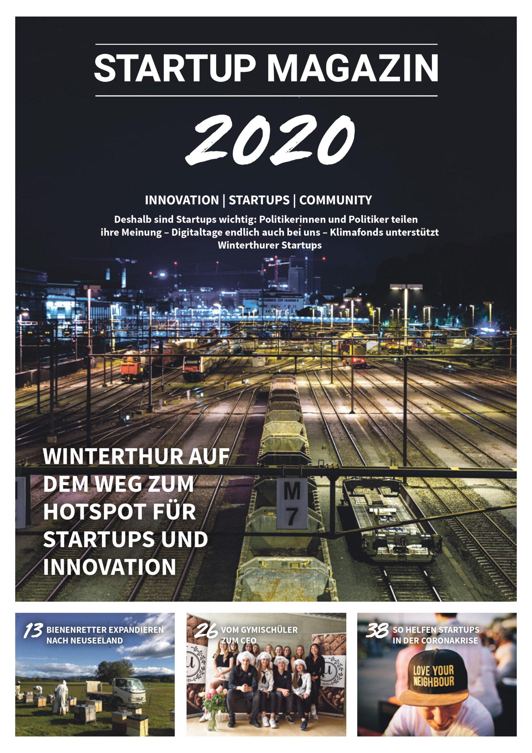 Startup Magazin 2020 als Beilage des Landbote
